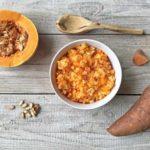 Vegane Süßkartoffel-Puffer