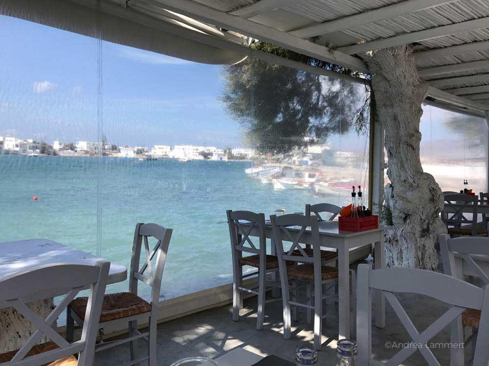 Die Sehenswürdigkeiten der griechischen Insel Milos, Restaurant in Polonia