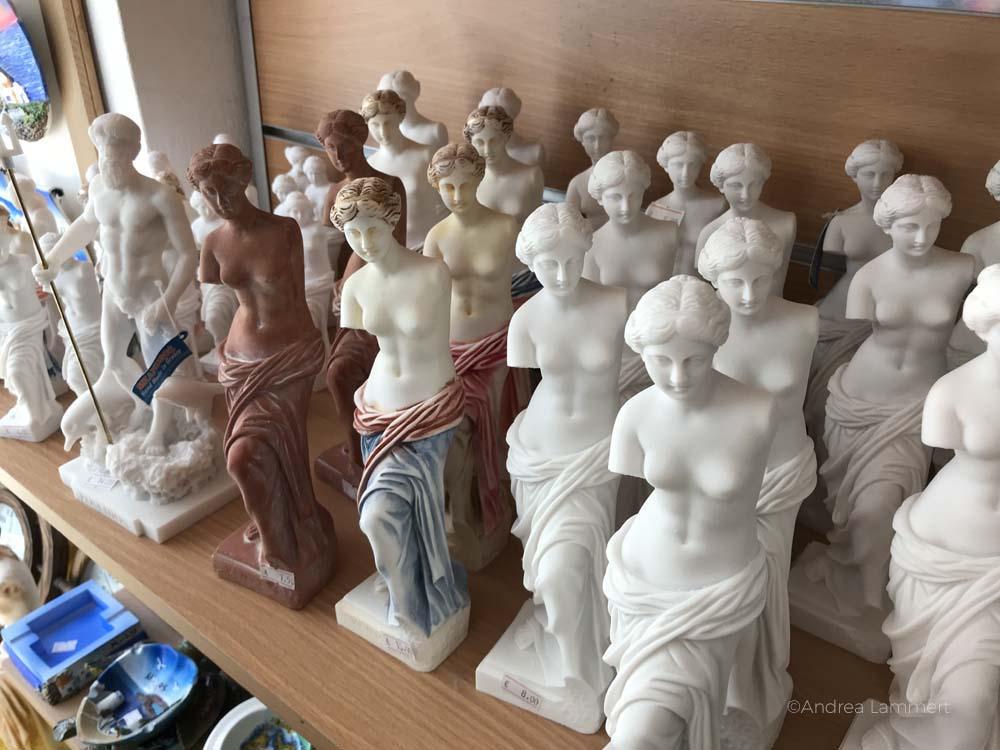 Die Sehenswürdigkeiten der griechischen Insel Milos, Venus von Milos,