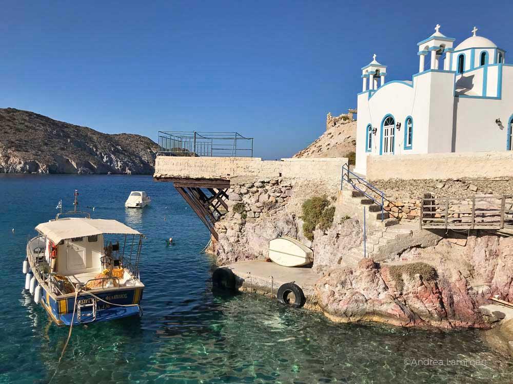 Die Sehenswürdigkeiten der griechischen Insel Milos, Plaka, archäologisches Museum
