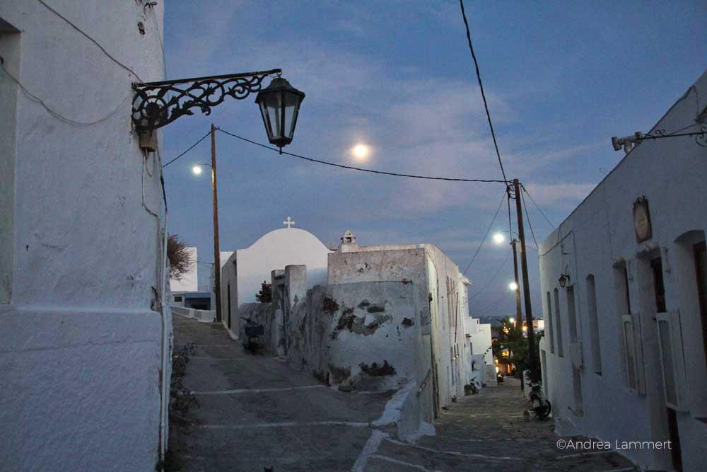 Die Sehenswürdigkeiten der griechischen Insel Milos, Plaka
