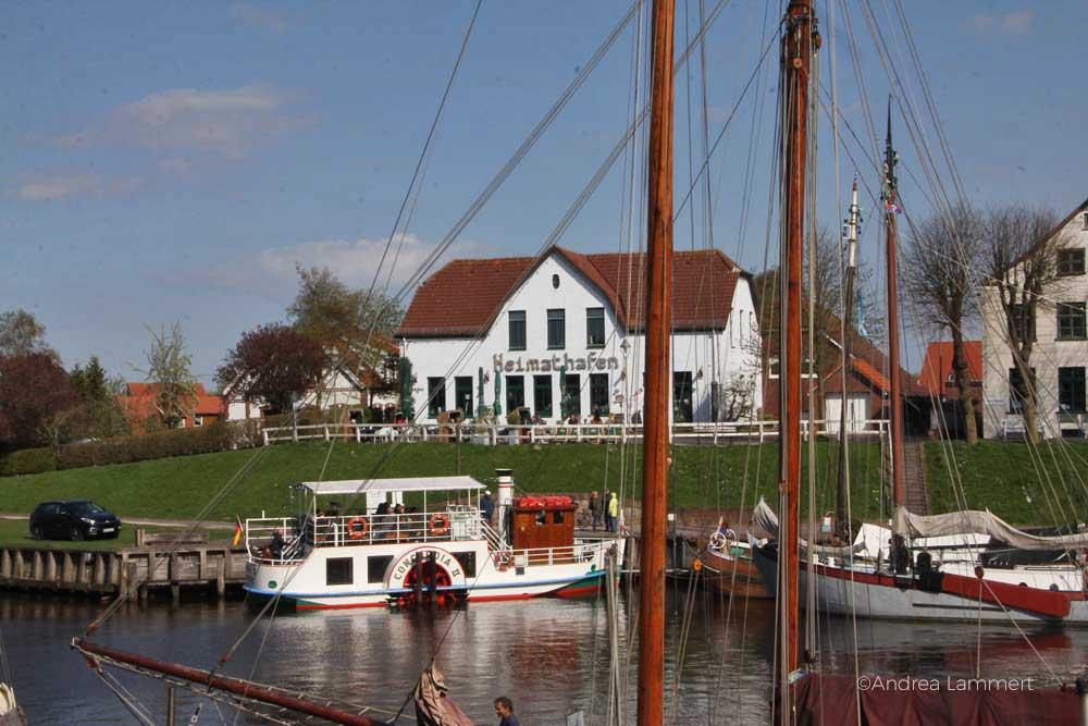 Nordsee, Wangerland, Harle, Harlingersiel, Carolinensiel, Museumshafen Carolinensiel