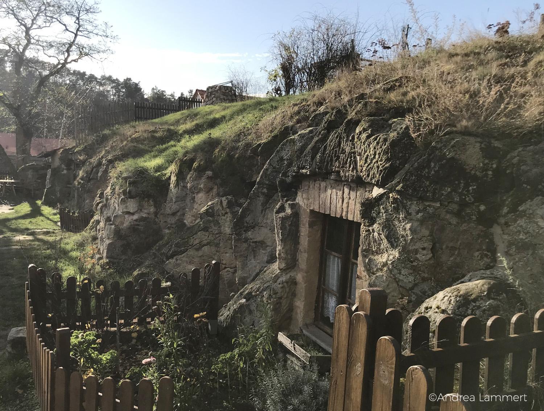 Höhlenwohnung im Harz/Langenstein, Führung durch die Wohnungen, Hobbithöhlen in Deutschland