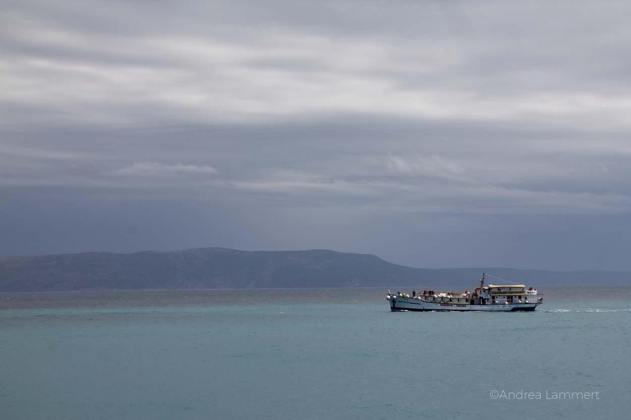 Inselhüpfen in Kroatien, Rad und Schiff in Istrien, von Krk, Cres, Rabac, Grosnjan,