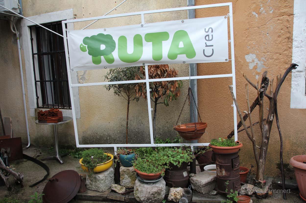 Filzatelier Ruta auf der Insel Cres in Kroatien, dort wird nachhaltig Schafwolle wiederverwendet