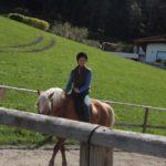 Reiten lernen in Südtirol auf dem Bio-Bauernhof
