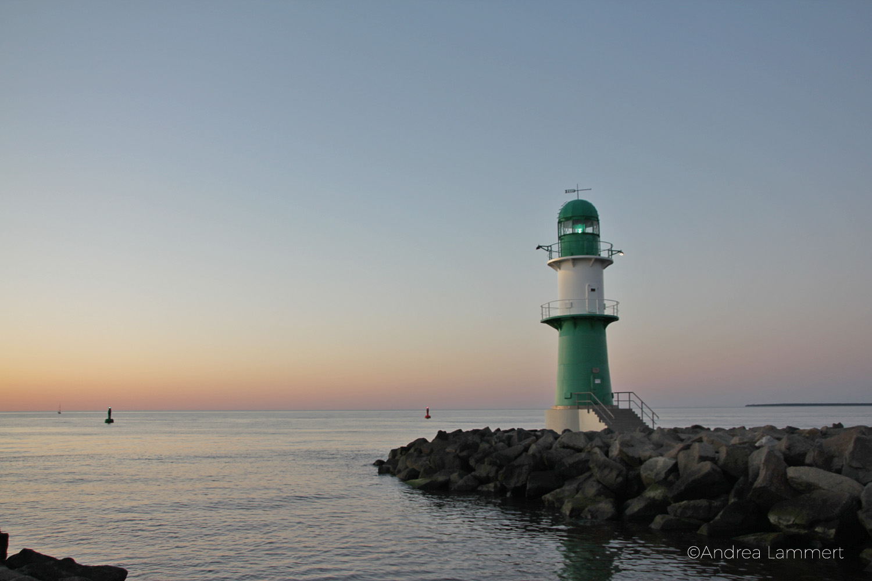 Warnemünde, Tipps, Leuchtturm mit Teepott