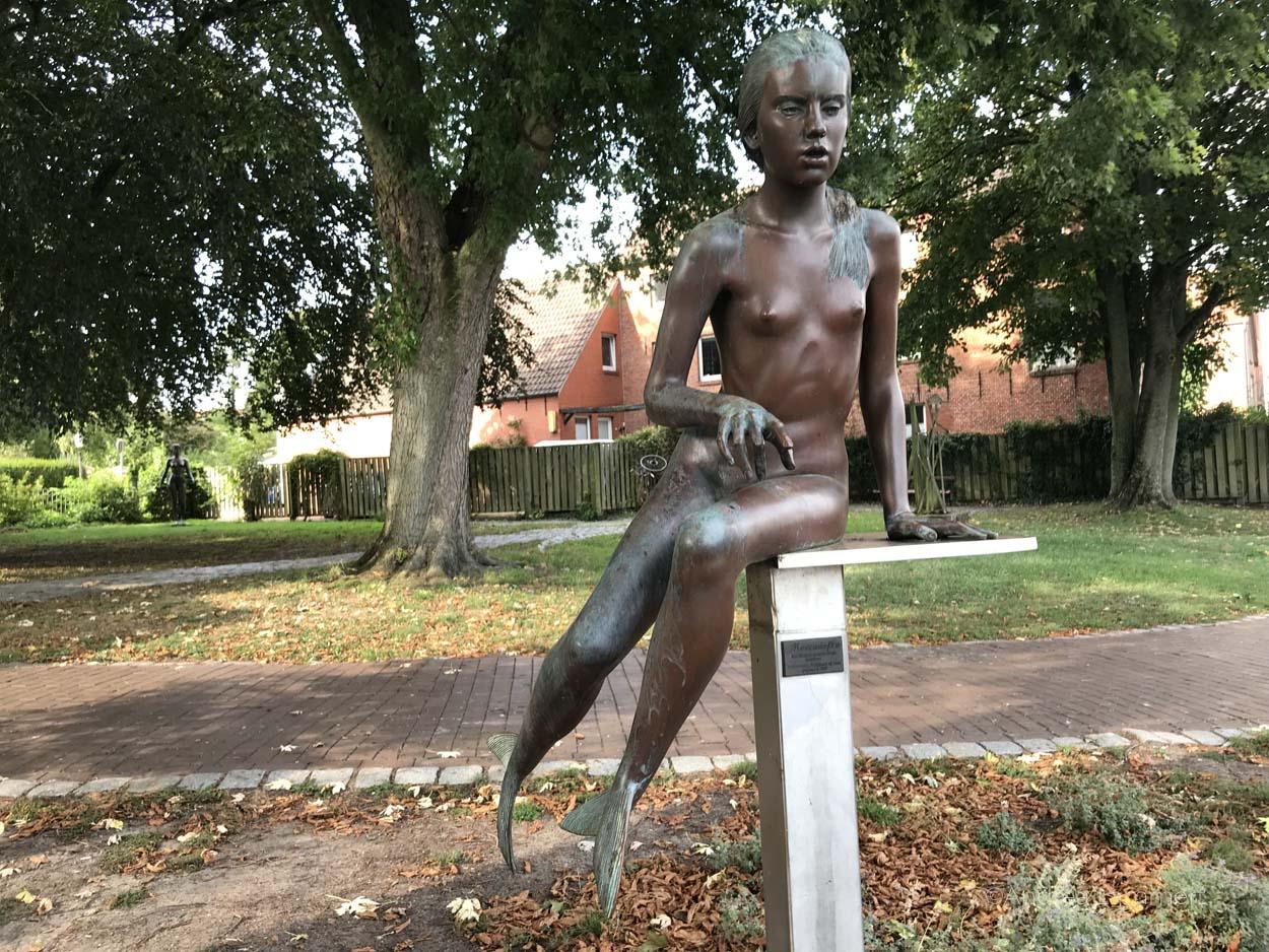 Skulptur von Karl Ludig Böke in Leer
