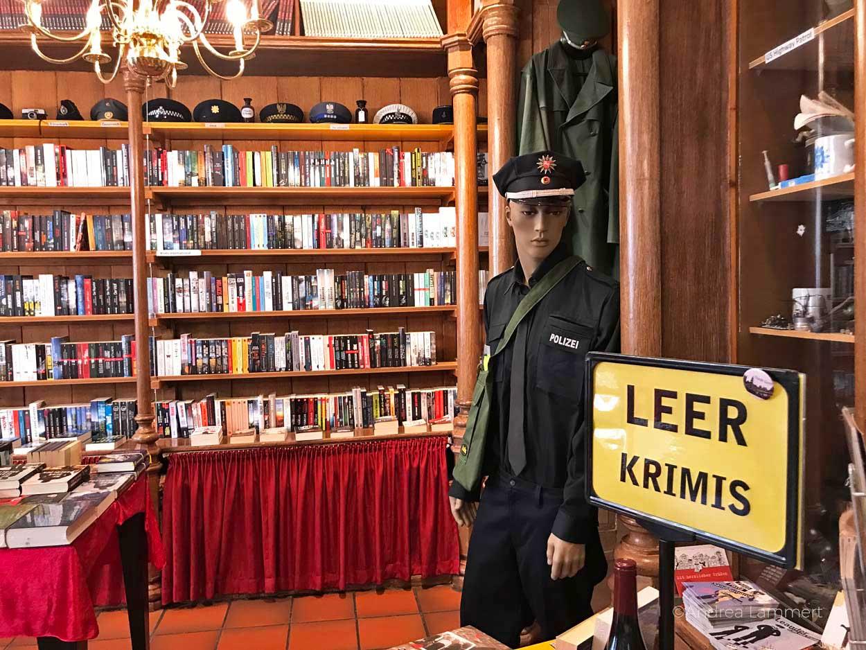 Tatort Taraxacum: preisgekrönte Buchhandlung in Leer Gehört zu den schönen Sachen, die man in Leer machen kann. Geheimtipps für die ostfriesische Stadt