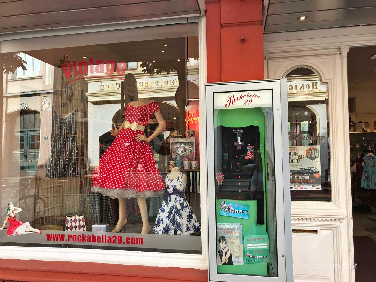 50er-Jahre-Laden in Leer: Gehört zu den schönen Sachen, die man in Leer machen kann. Geheimtipps für die ostfriesische Stadt