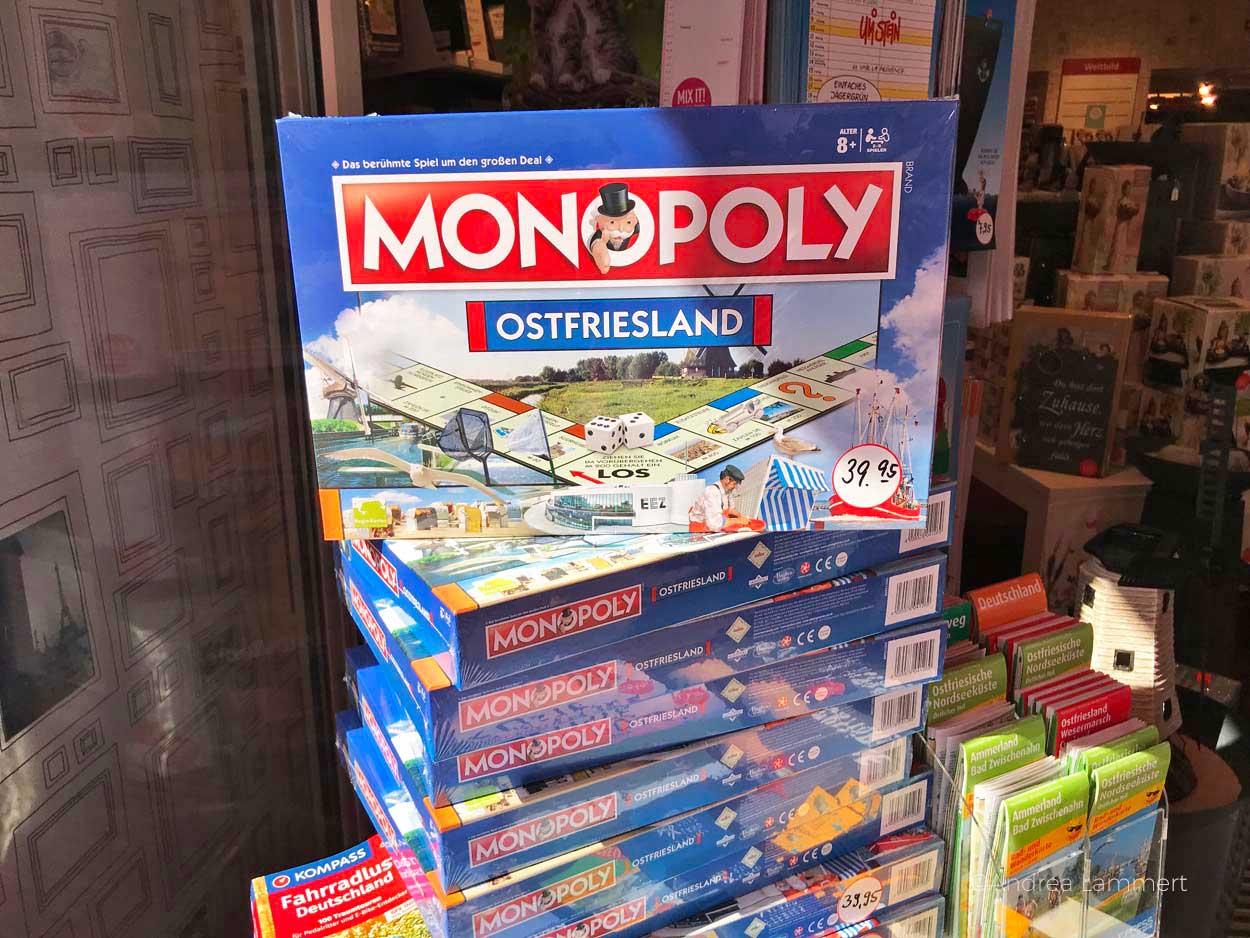 Ostfriesen-Monopoly: Gehört zu den schönen Sachen, die man in Leer machen kann. Geheimtipps für die ostfriesische Stadt