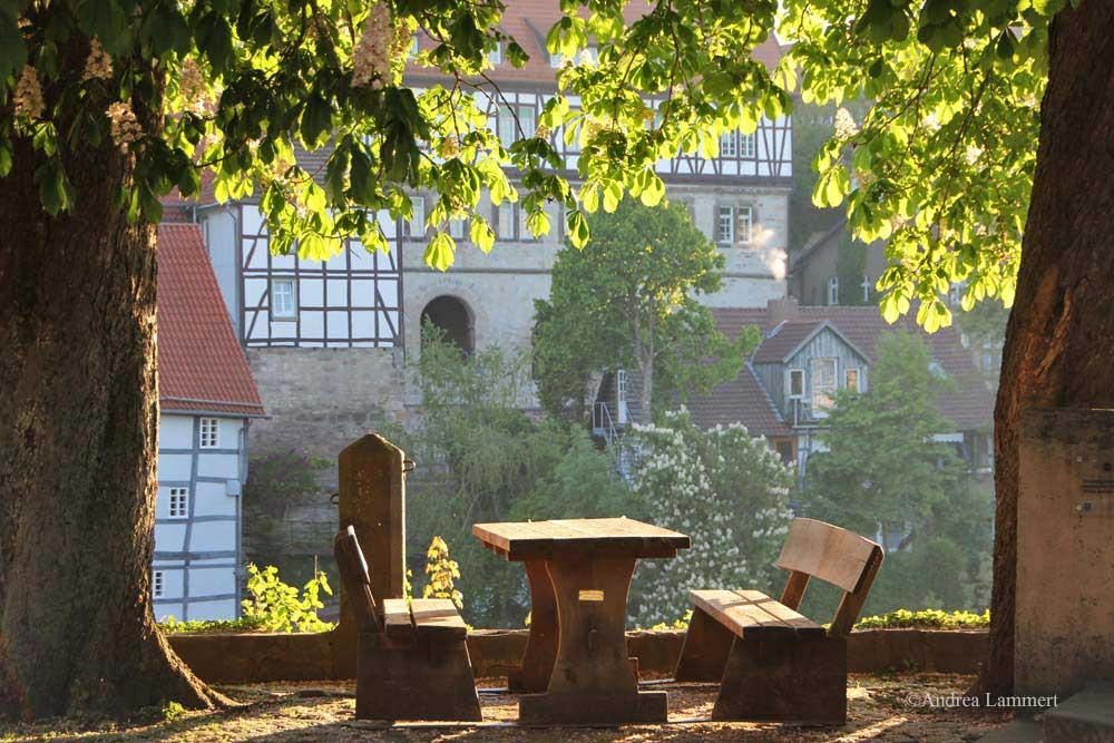 Warburg im Teutoburger Wald, schöne Fachwerkstadt