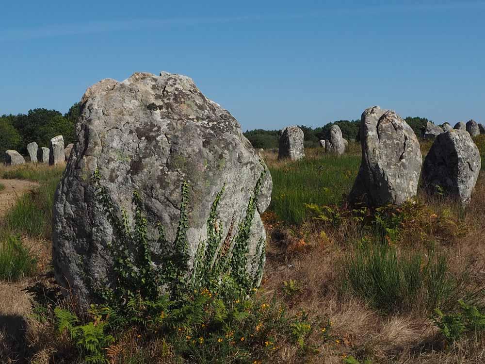Carnac, Megaliten