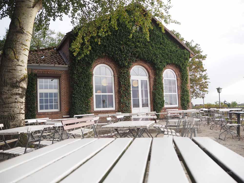 Schöner Blick: Terrasse des Kurhauses