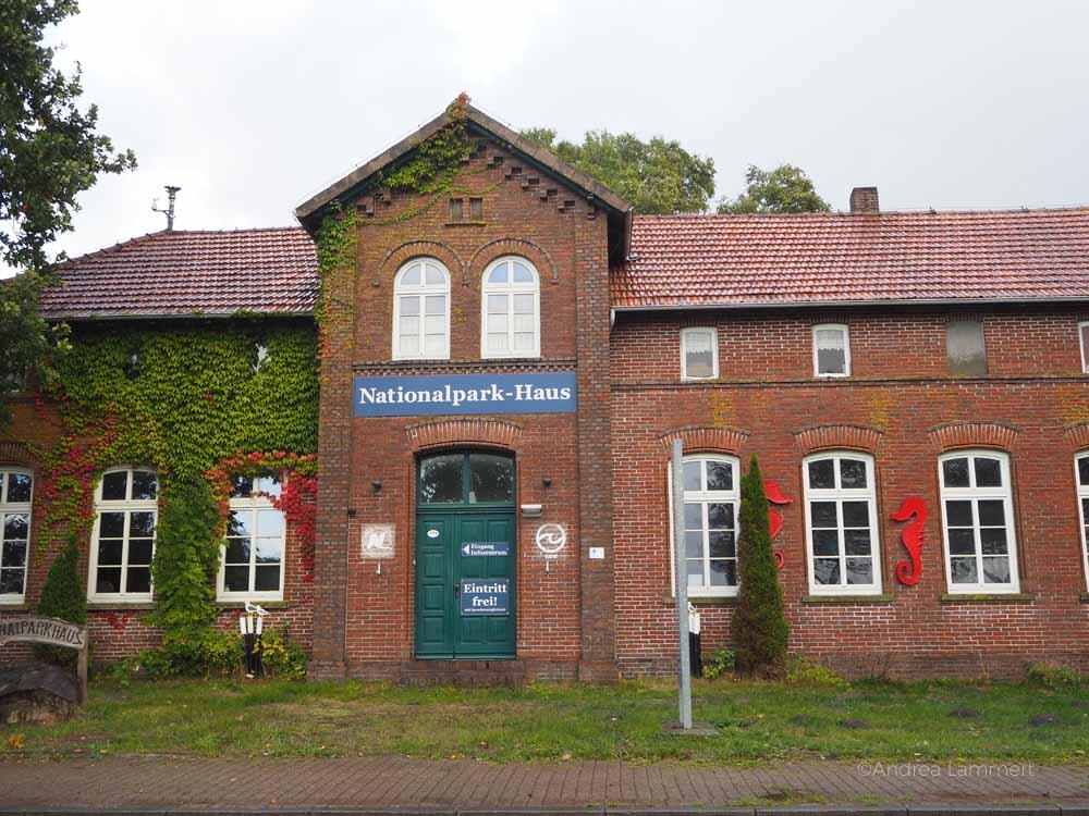 Das Nationalparkhaus liegt in einer alten Schule in Dangast