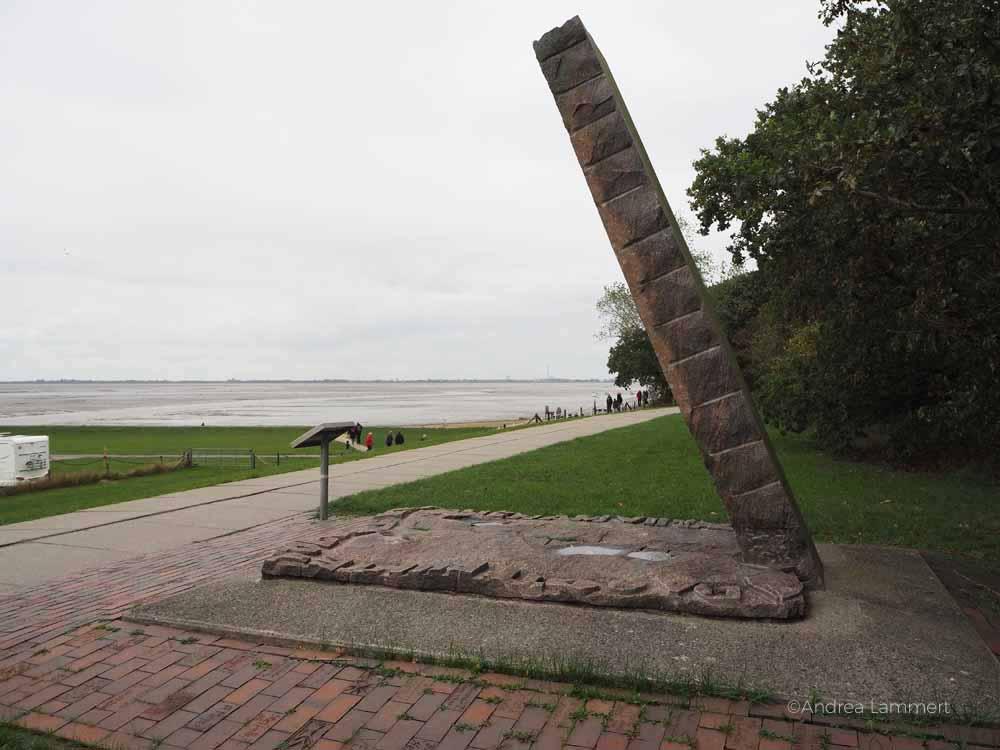 Auf dem Skulpturenpfad von Dangast