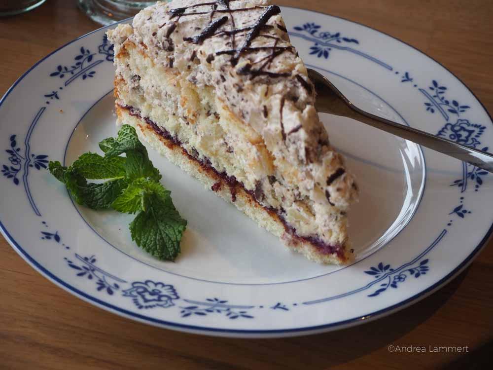 Leckerer Kuchen im Café Zweite Heimat in Dangast. Ein echter Café-Tipp