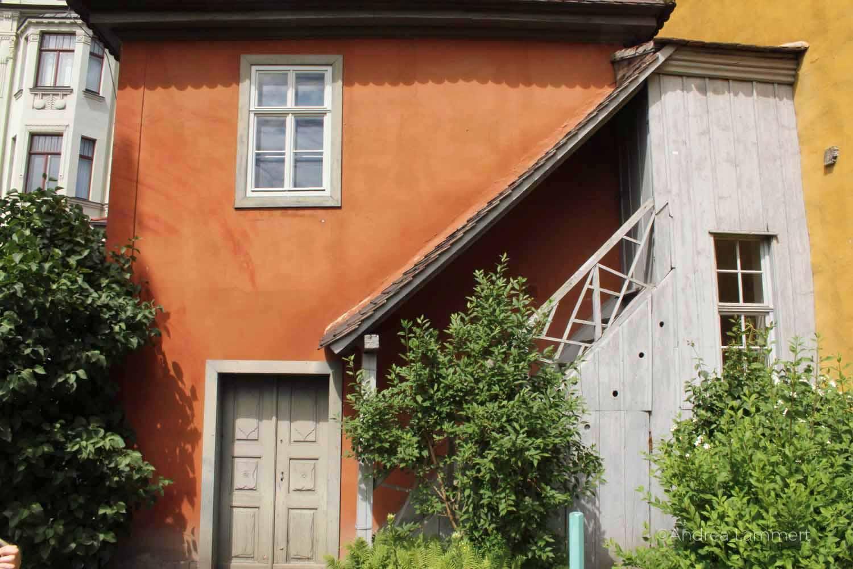 Weimar, Goethespasziergang, Goethehaus