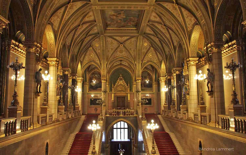 Budapest mit Kindern, Parlament