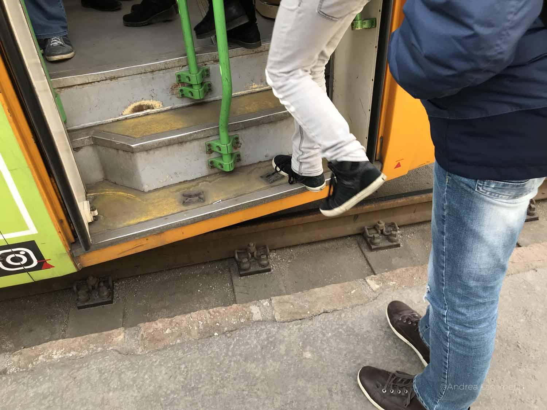 Budapest mit Kindern, Straßenbahn fahren