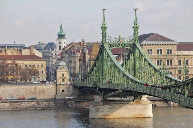 Budapest mit Kindern, Grüne Brücke