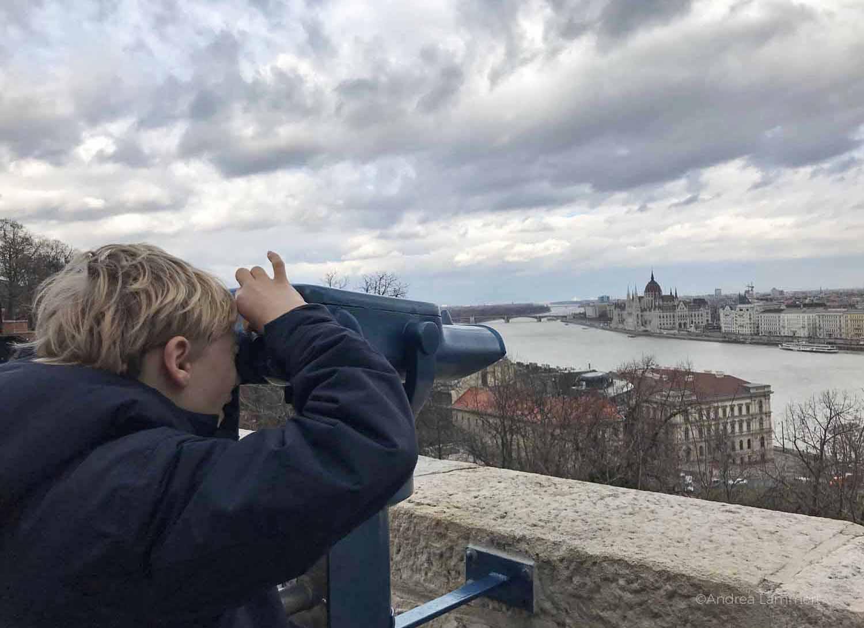 Budapest mit Kindern, auf dem Burgberg