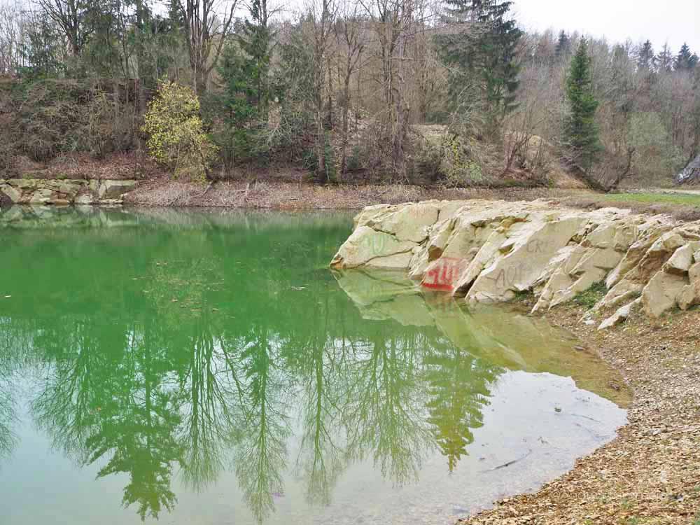 Blauer See, Harz., Elbringerode, Naturdenkmal