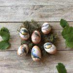 Statt färben: Ostereier dekorieren