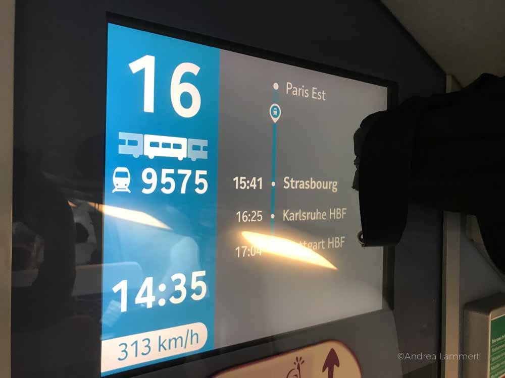 Tipps für günstige Tickets mit der Bahn ins europäische Ausland, hier die Fahrt Hannover-Paris mit der Bahn