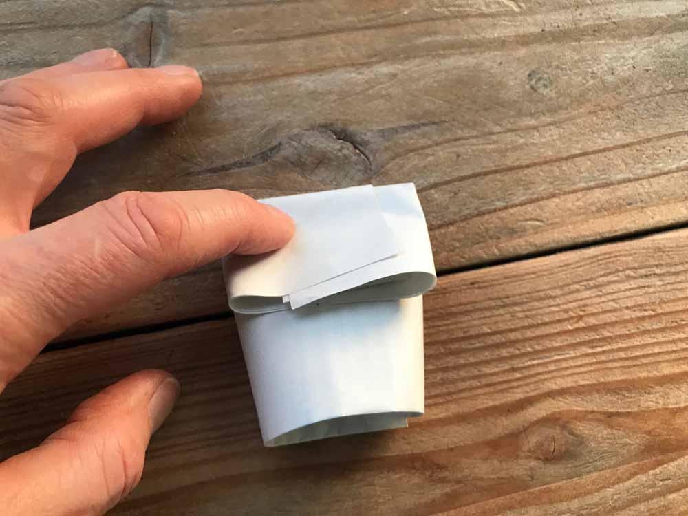 Anzuchttöpfe aus Papier selbst gemacht und torffrei