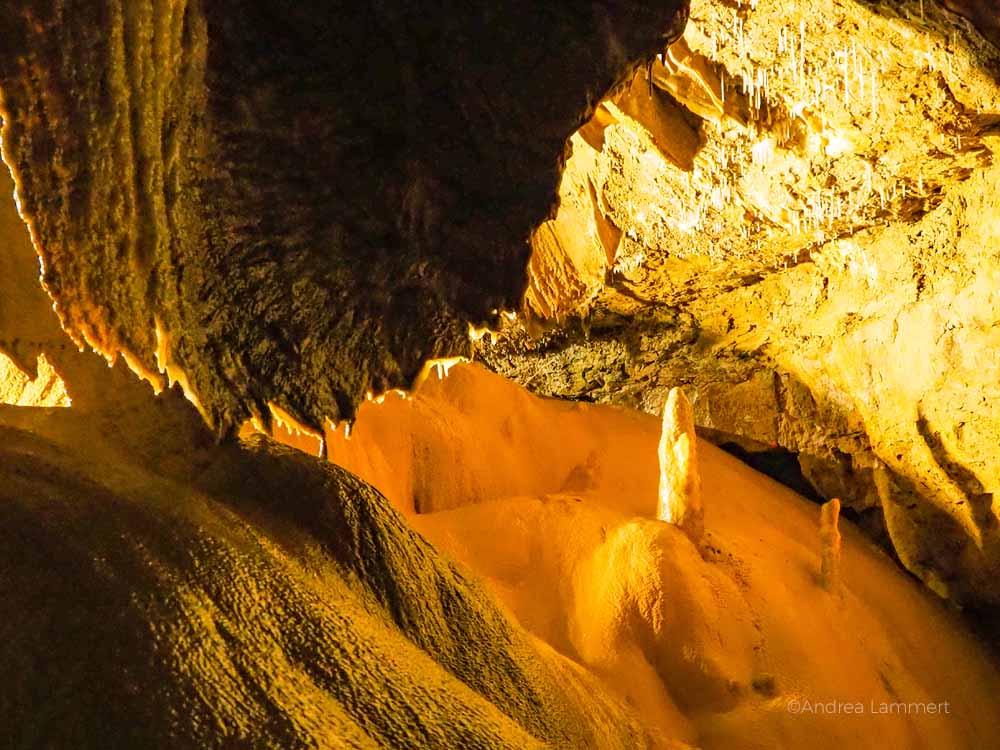 Höhle Frankreich, Cevennen, Grotte de Trabuc, unterirdische Schönheit, Höhlenführungen