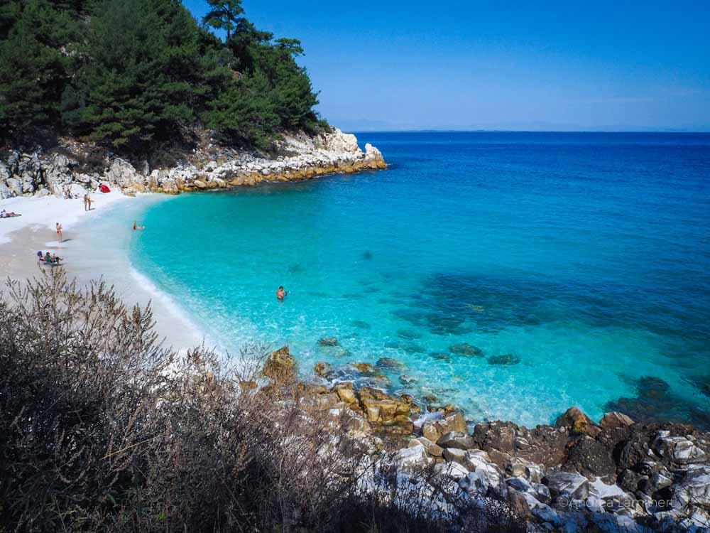 Marble Beach, Thassos, Marmorstrand, Limenea