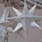 Weihnachtssterne basteln - schnell & einfach