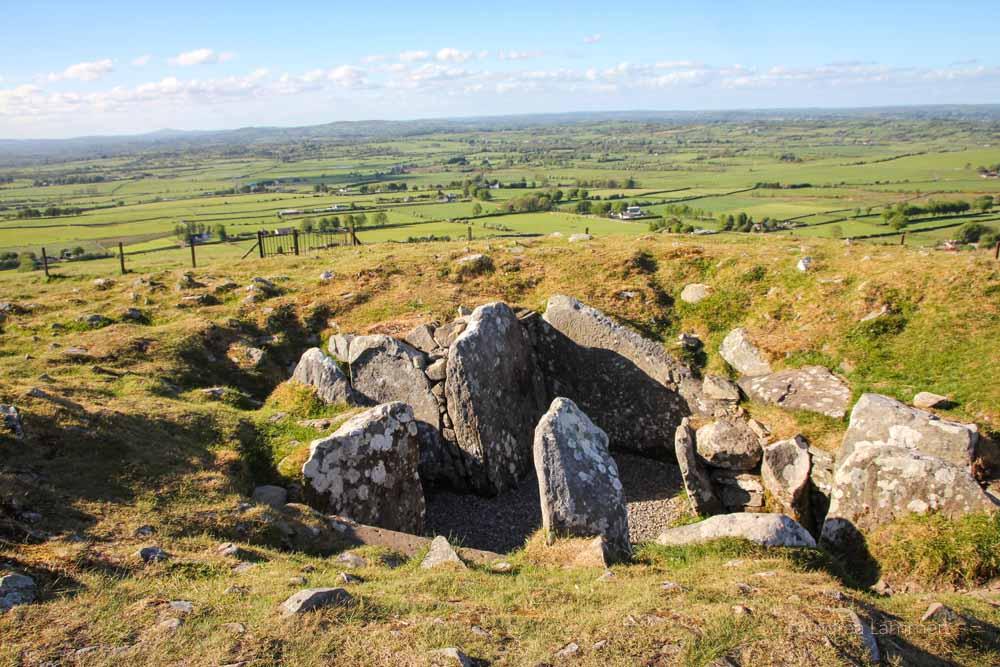 Loughcrew Cairns, Kraftort Irland, Meath, Boyne Valley, spirituelle Orte Irland