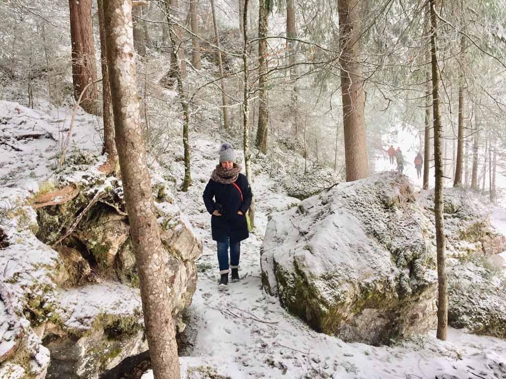 Draussen sein, rausgehen, Tipps im Winter Outdoor