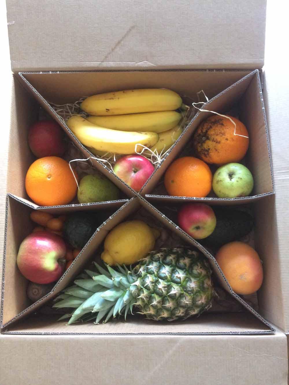Tipps zum Nachhaltigen Leben - Obstbox
