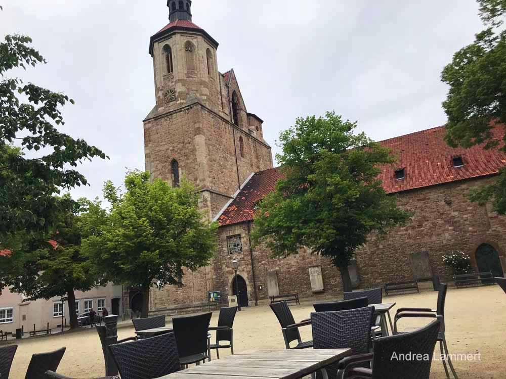 Die Magni-KIrche in Braunschweig.