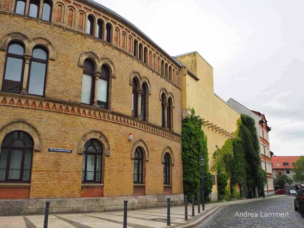 Die Synagoge in Braunschweig wurde neu errichtet.
