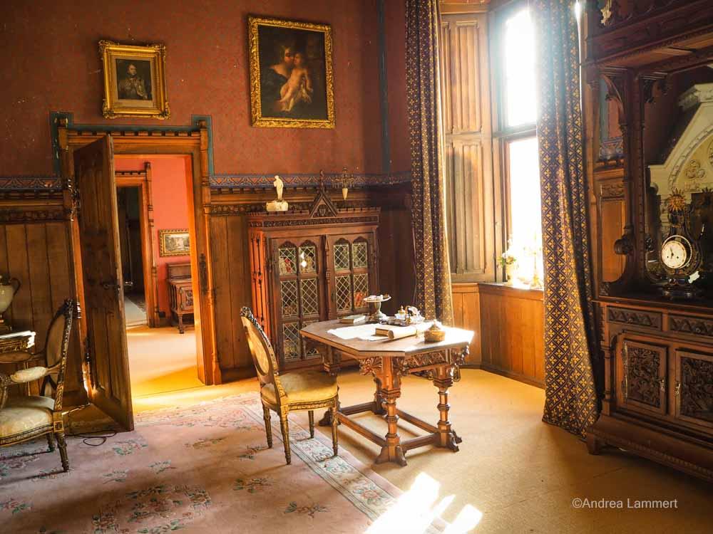 Die Räume in der Marienburg können sich sehen lassen.