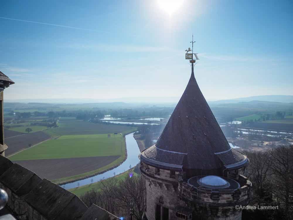 Blick ins Calenberger Land von der Marienburg