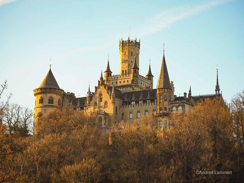 Unser Märchenschloss war eher da als Neuschwanstein und hat die Bayern inspiriert, es der Marienburg nachzutun.