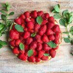 Erdbeerkuchen: Vegan & glutenfrei