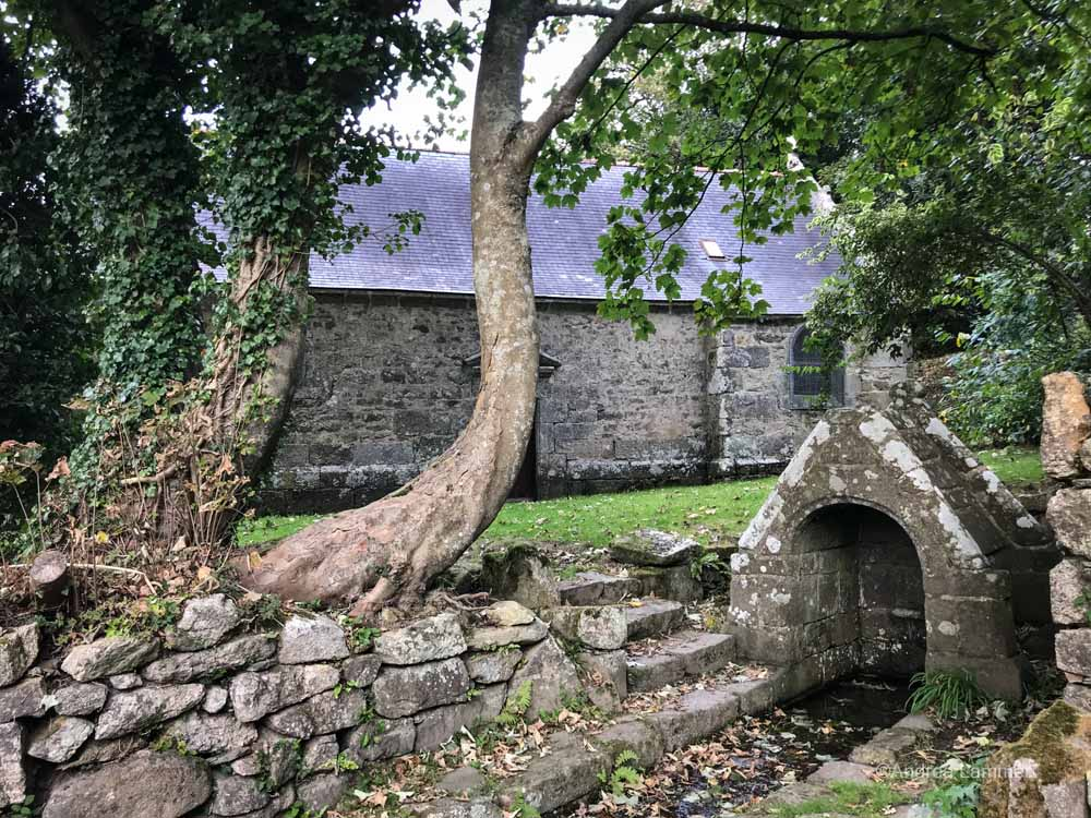 Bretagne, mystisch, tipps, Dolmen, quellen, kapellen, Chapelle du traon