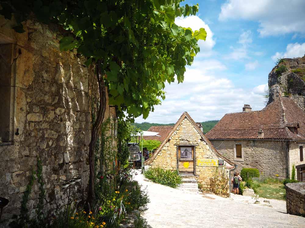Frankreich, Fluss Lot, Sehenswürdigkeiten, Reiseführer, Tipps, Badestelle, Saint Cirq de Lapopie