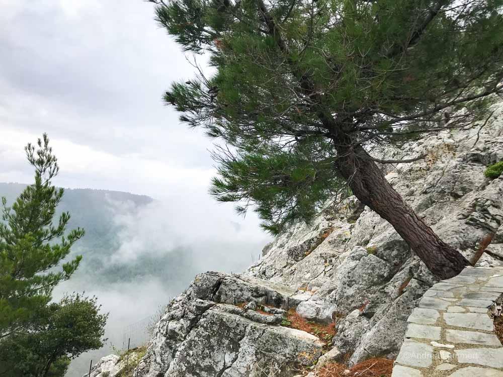 Wandern nach Metamorfosi auf Thassos
