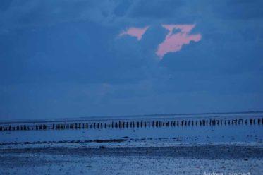 Nacht an der Nordsee