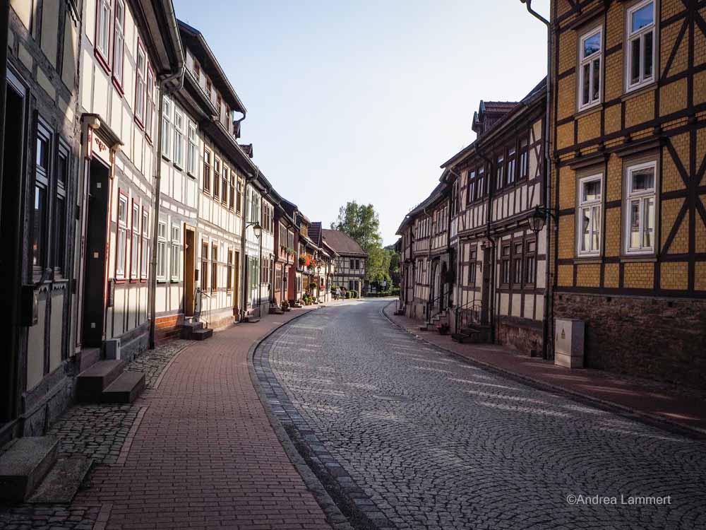 Fachwerkstraße in Stolberg - einfach nur schön