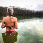 Winterschwimmen: Anbaden im Oktober