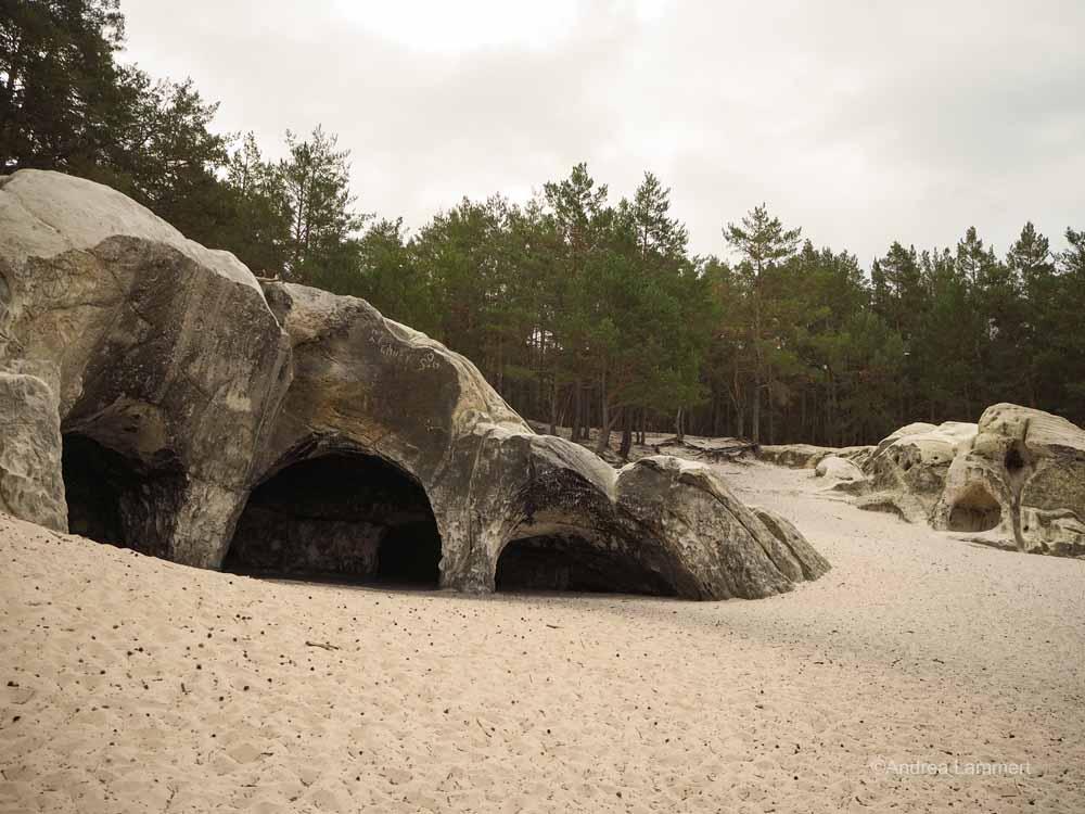 Sandsteinhöhlen Blankenburg, Übersicht