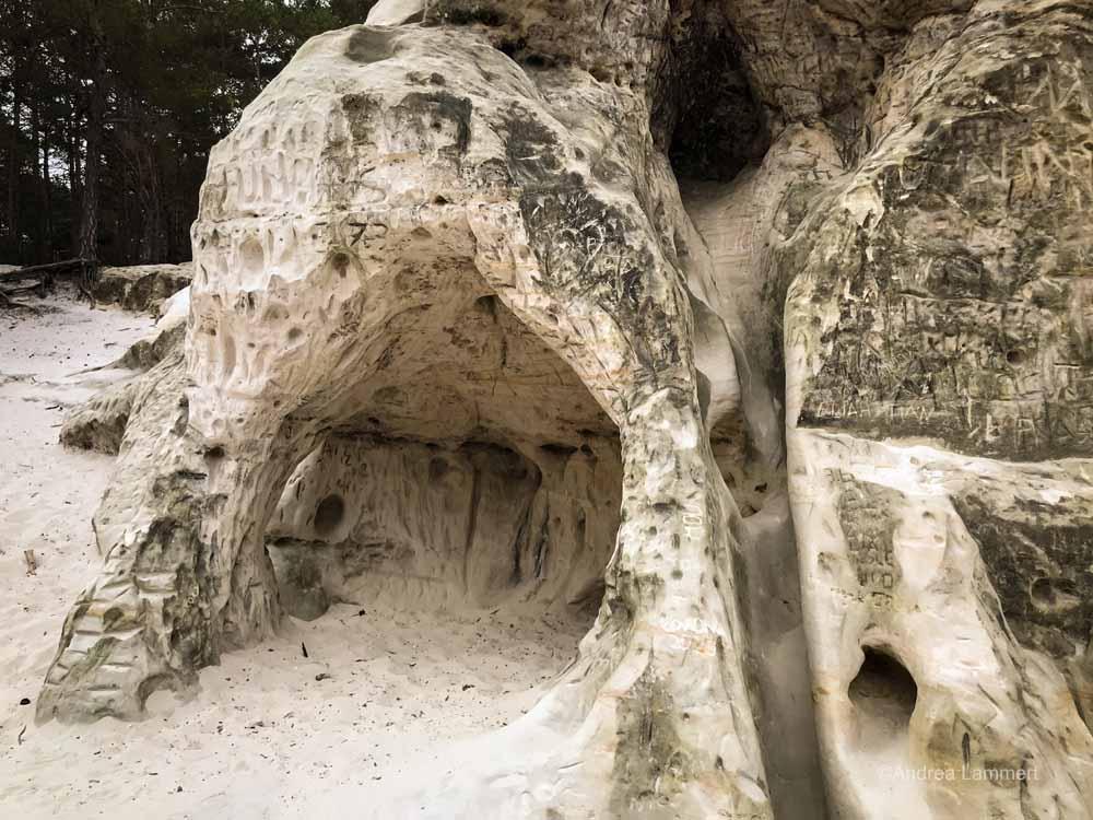 Blankenburg, Sandsteinhöhlen, Wanderung
